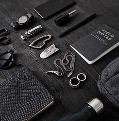 EDC Noir by SVØRN www.svorn.net #edc #essentials #mensaccessories #mensaccesories #accessoriesformen #accessories #carabiner #keychain #keychaincollection #carry #carryon #carryology #design #urban #edc2017 #edclifestyle #edclife #edcporn #pocket #pocketdump #mensfashion #mensstyle #menswear #mensjewelry #goth #jewelryformen #giftsforhim #giftsformen #giftforboyfriend #streetstyleluxe