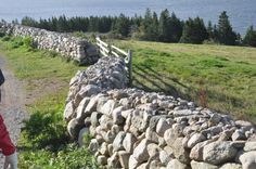 Scottish fence at the Highland Village Museum near Sydney, Canada.