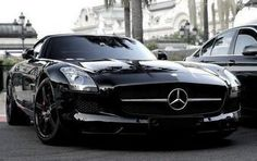 Stunning black Mercedes-Benz........