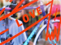 Bikes frames and love by Ivana Paleckova