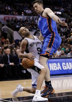 Tony Parker : NBA playoffs: Western Conference finals