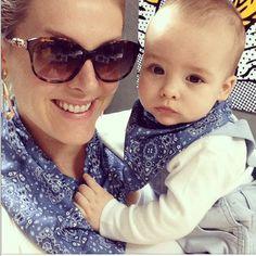 Tal mãe, tal filho: Ana Hickmann e Alexandre combinando - de novo!