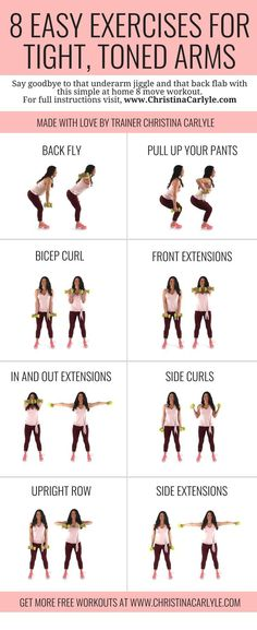 Burn fat and get toned arms fast with these 8 Easy Exercises with Weight for Wom. Burn fat and get toned arms fast with these 8 Easy Exercises with Weight for Women - Workout for women - Home arm workout with weights - Get the full details and Mental Health Articles, Health And Fitness Articles, Health Fitness, Health Tips, Health Benefits, Fitness Diet, Enjoy Fitness, Fitness Games, Rogue Fitness