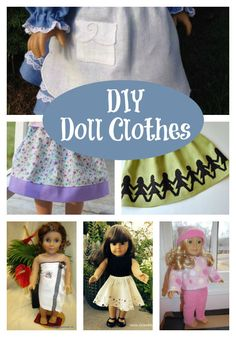 20 Homemade Doll Clothes and Accessories That You Need to Make!