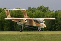 North American OV10 Bronco, in US Marine Corps colours.