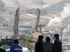 San Jose copper-gold Mine in the Atacama Desert about 28 miles from Copiapo, Chile in 2010.  Collapsed with miners trapped for weeks. All were rescued.