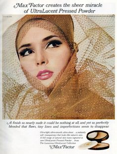 UltraLucent Pressed Powder by Max Factor - 1966
