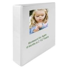 $39 Montessori Teaching Album for Toddlers -  Montessori Curriculum for home teaching - 18 mo - 2.5 years
