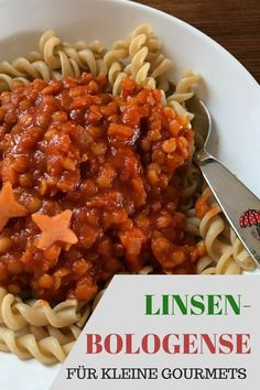 Red Lentil Bolognese (vegan) recipe for baby and child: www.de # The post Red Lentil Bolognese (vegan) recipe for baby and child: www.de # appeared first on Vegan. Veggie Recipes, Baby Food Recipes, Pasta Recipes, Vegetarian Recipes, Dinner Recipes, Healthy Recipes, Vegan Vegetarian, Crockpot Recipes, Lentil Bolognese Vegan
