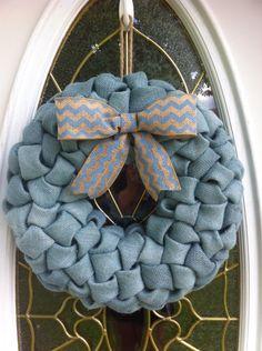 Baby Boy Burlap Wreath by WeHaveWreaths on Etsy https://www.etsy.com/listing/193981502/baby-boy-burlap-wreath