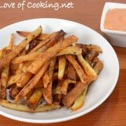 For the Love of Cooking » Oven Baked French Fries