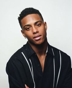 Cute Black Boys, Pretty Boys, Black Men, Fine Boys, Fine Men, Beautiful Men, Beautiful People, Keith Powers, Afro