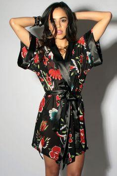 Society Suicide Kimono Wrap - Iron Fist Clothing