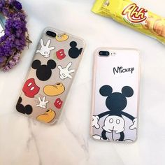ba5f1d2e46 4.97AUD - Mickey Mouse Cartoon Back Hard Case Cover For Iphone 5 5S 6 6S