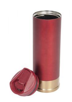 Shotgun Cartridge Travel Mug/Flask Perfect Gift For Him, Gifts For Him, Shotgun Cartridges, Nespresso, Travel Mug, Flask, Coffee Maker, Mugs, Sustainability