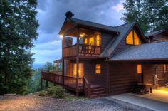 Mountain Views - Blue Ridge GA - Blue Sky Cabin Rentals  T-$2,441.60 - 8 MAX