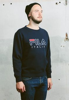 Vintage 90s Fila Sweatshirt, 28 £ available at ASOS.MP/BETABOUTIQUE