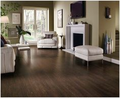 dark laminate floors - it will have to be dark laminate floors.