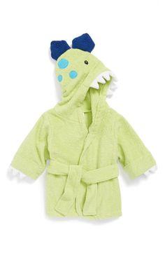 Even the name is adorable: 'Splash-A-Saurus' Dinosaur Terry Robe