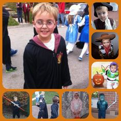 The many faces of Tyler...here's a look at costumes of the past 8 Halloweens. Some were cute, others were cruel.