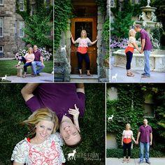 Greystone Commons | Short North Engagement | Gallipolis + Columbus, Ohio Photographer » Little Fawn Photography