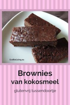 Coconut flour brownies – recipe for gluten-free chocolate brownies – Desserts World Healthy Brownies, Healthy Cake, Keto Brownies, Healthy Baking, Healthy Pie Recipes, Pureed Food Recipes, Low Carb Recipes, Sweet Recipes, Gluten Free Donuts