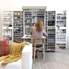 How to Organize your DreamBox for Cricut Crafting – The Original ScrapBox Craft Room Storage, Storage Spaces, Craft Room Design, Sewing Cabinet, Selling Furniture, Take A Seat, Modern Exterior, Space Crafts, Unique Furniture