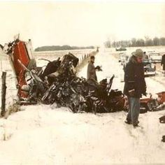 Buddy Holly, The Big Bopper, and Ritchie Valens Plane Crash The Day The Music,died Ritchie Valens Plane Crash, Buddy Holly Plane Crash, Mason City Iowa, Popular Music Artists, Don Mclean, Site Photo, Celebrity Deaths, Clear Lake, Rock N Roll
