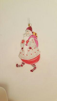 #Santa #christmasdecorarion #christmasdecorationideas #diy