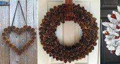 Vyrobte si nádherné vence zo šišiek. Sú skvelým doplnkom ku vianočnej výzdobe. S týmito nápadmi budete vedieť šišky kombinovať do rôznych farieb a tvarov. Veniec môžete... Christmas Time, Christmas Wreaths, Rustic Decor, Rustic Wreaths, Pine Cones, Diy And Crafts, Inspiration, Holiday Decor, Tutorials