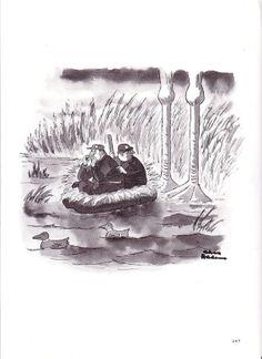 Vintage CARTOON Comic CHAS ADDAMS Adams Monster by Tasteliberty, $22.00 Original Addams Family, Addams Family Cartoon, Addams Family Quotes, Addams Family Tv Show, Morbid Humor, Charles Addams, Old School Cartoons, Cartoon Books, New Yorker Cartoons