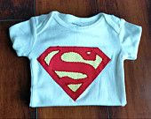Superman Bodysuit and detachable Cape Set