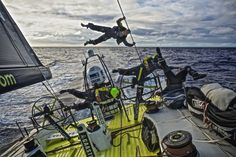 February 17, 2015. Leg 4 to Auckland onboard Team Brunel. Day 9. - Stefan Coppers / Team Brunel / Volvo Ocean Race