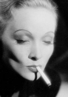Marlene Dietrich, circa 1930s.