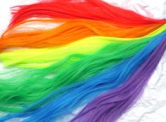 Rainbow Tail  Unicorn Horse My Little Pony Tail Cosplay Costume MLP Rainbow Dash on Etsy, $27.00