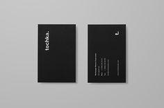 Tochka studio self-branding on Behance