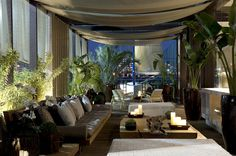 DZnho: Área externa - varandas em apartamentos