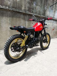"Bike Feature: Revolt Cycles' Honda XL125 ""RVLT08"" | Cafe Racer Philippines"