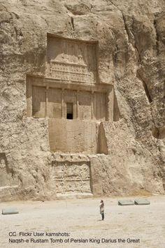 The Tomb of Darius the Great at Naqsh-i Rustam