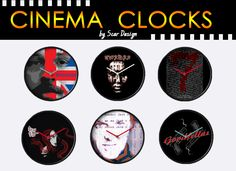 Cinema Movies Clocks. January 2017 discount by Scar Design. 25% OFF Wall Clocks. Use code: TIMEBLOCK25   #2017sales #sales #JanuarySales #2017 #movies #moviegifts #discount #redbubble #gifts #wallclocks #clock #buyclock #coolclock #homedecor #homegifts #home #giftsforhim #giftsforher #kidsroom #livingroom #buywallclock #buycoolgifts #redbubble