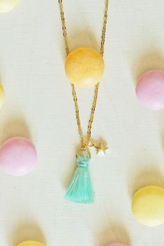 Tassel Necklace, Gold, Etsy, Jewelry, Neck Chain, Stars, Jewlery, Bijoux, Schmuck