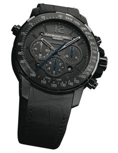 This is the new Raymond Weil Nabucco Rivoluzione Black Chronograph
