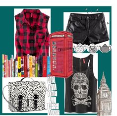"""Sans titre #41"" by meganedu ❤ liked on Polyvore"
