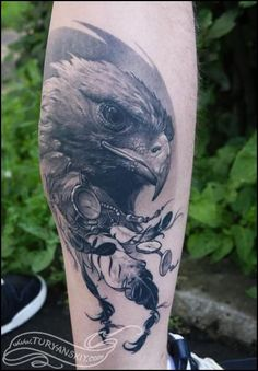 Oleg Turyanskiy - Eagle Tattoo:
