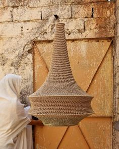 Joosh Crochet Pendant Light - Medium - Hamimi Design