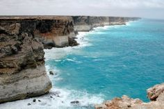 Cliffs on the Great Australian Bight