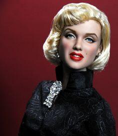 16-inch tonner Marilyn Monroe doll custom repaint by Noel Cruz by ncruzdolls, via Flickr