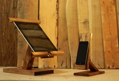 Ipad Stand/ Ipad Mini Stand / Wood Ipad Stand/ Ipad Station Ii