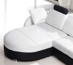 Leather Sectional Sofas, Modern Sectional, Modern Sofa, Bonded Leather, Living Room Designs, Upholstery, Couch, Inspiration, High