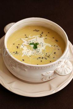 Zupa krem z kurczaka Cheeseburger Chowder, Hummus, Ethnic Recipes, Drink Recipes, Food, Magick, Cooking, Essen, Meals